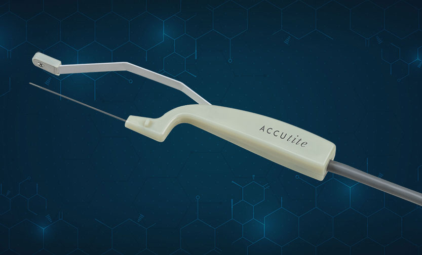 AccuTite™: Tiny but mighty and treats almost any small area of your body